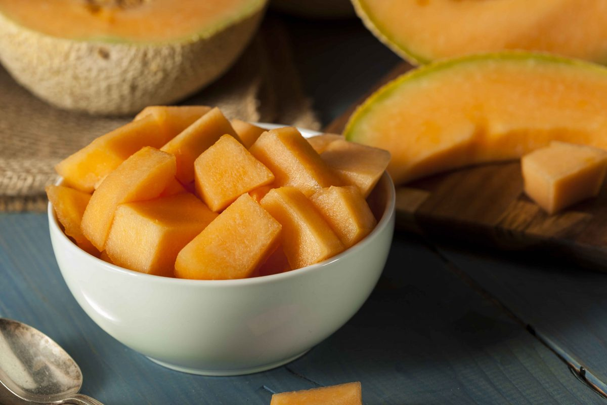 Cantaloupe in a Bowl